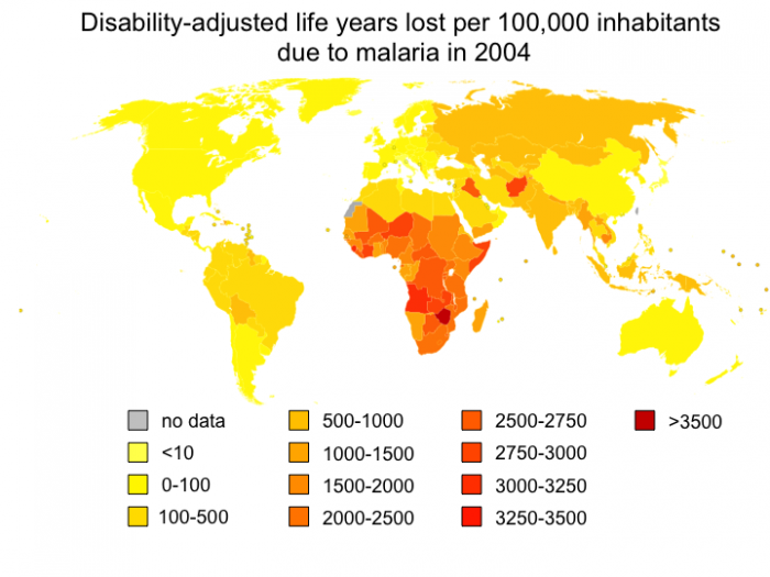 How much does it cost to treat malaria?